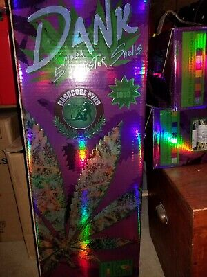 Dank Shells Collectible firework Label 24 cans only