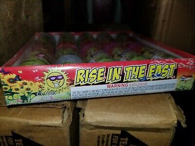 Firework Label Rise In The East