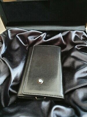 Montblanc Meisterstuck Leather Key Case Plus Walet Ring Ltd Anniversary Edition