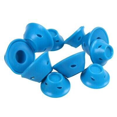 3X(10pcs/set Soft Rubber Magic Hair Care Rollers Silicone Hair Curler No He P2L1