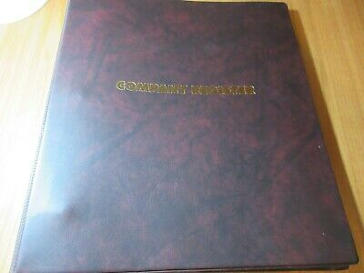 Collins Company Share Register 3 ring Binder  1 only clearance line