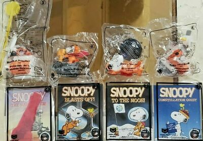2019 Snoopy Nasa Mcdonalds Toy's #1-8 New!!