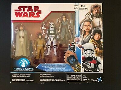 Hasbro Star Wars Force Link 3.75 inch Action Figure - (Pack of 4) Rare