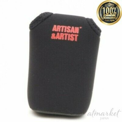 Artisan Artist Flap type lens case ACAM-411 Camera Black Nylon Made In Japan F/S