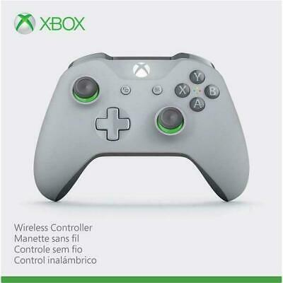 Microsoft Xbox One Wireless Controller Grey And Green