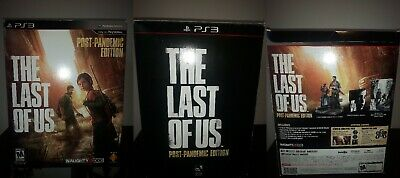 The Last of Us Post-Pandemic Edition PS3 RARE *USED*