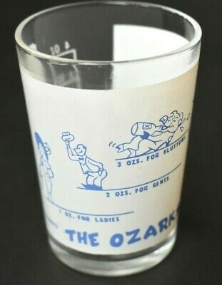 The Ozarks For Jackasses Say When 4 oz Shot Glass Alcohol Humorous Donkey