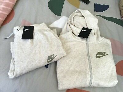 ⭐️ Nike Girls Filles BRCH/GOLD Tracksuit XL RRP $160 ⭐️