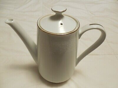 Norleans Fine China White lace Teapot with Lid Made in Japan