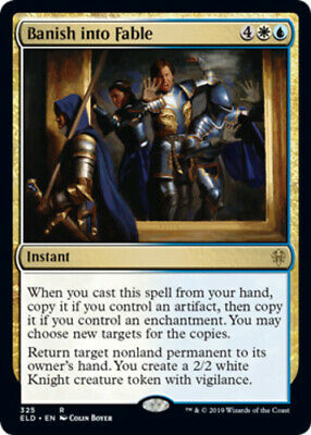 Throne of Eldraine (Presale) MTG - 1 x Banish into Fable - Brawl Deck Exclusive