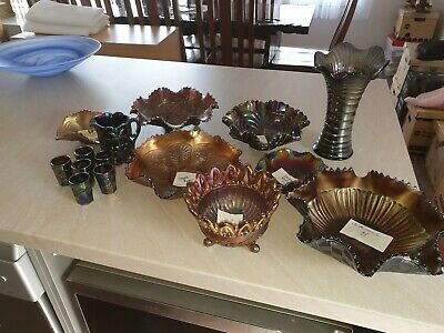 Carnival Glass Collection