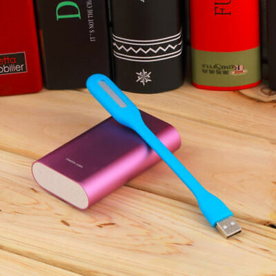 Mini Portable LED Lamp Flexible Light for Computer Laptop Charger Bank Notebook