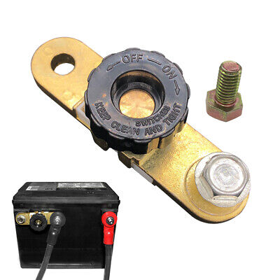 Ampper Side Post Battery Disconnect Switch, Battery Master Switch Isolator