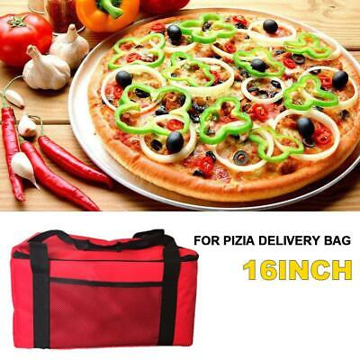 Pizza Cake Delivery Bag Picnic Package Insulated Food Storage Holder Bag 16 Inch