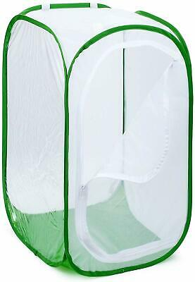 """Restcloud 48"""" Large Monarch Butterfly Habitat, Giant Collapsible Insect Mesh Cag"""