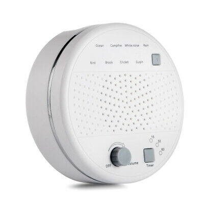 15/30/65 Minutes Sleep Timer Portable Baby White Noise Machine for Sleep Bedtime