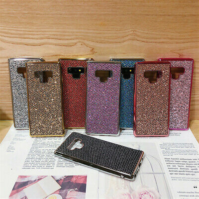 Bling Glitter Case For Samsung Galaxy S10 S9 A8 S8 TPU Shockproof Bumper Cover