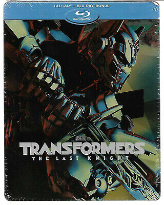 TRANSFORMERS - The Last Knight / Blu-Ray Steelbook Neuf sous blister - VF