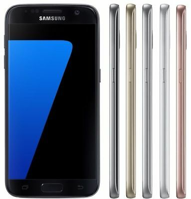 SAMSUNG GALAXY S7 SM-G930F 32GB Unlocked SIM Free 4G LTE Android Mobile Phone UK