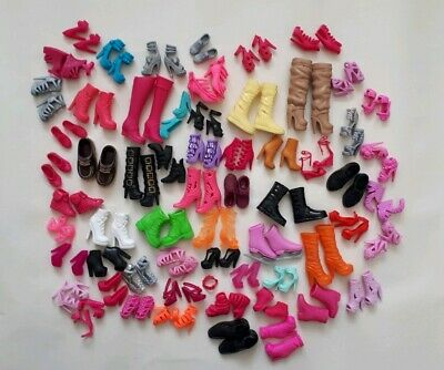 Bundle job lot Doll Shoes boots for barbie sindy Chelsea skipper and others