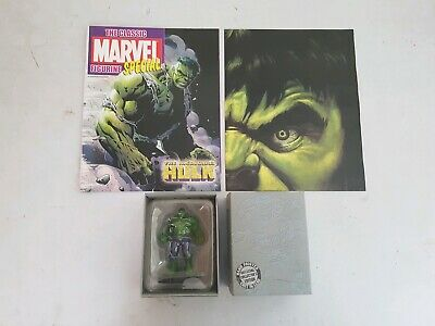 Eaglemoss Marvel The Classic Figurine Collection Special Issue Hulk with poster