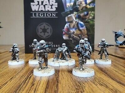 Star Wars Legion Imperial Shoretroopers Unit Expansion PAINTED