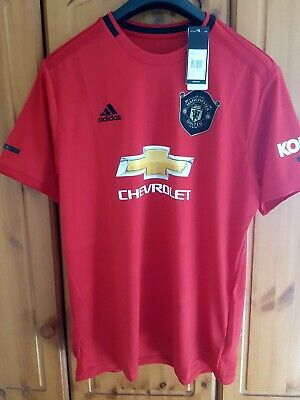 Manchester United  home shirt 19/20 season size XXL ,  New with tags .
