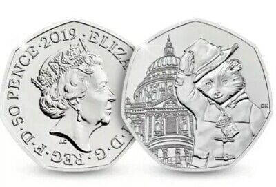 Paddington Bear at St Pauls Cathedral 50p Coin From Sealed Bag 2019 Brand New