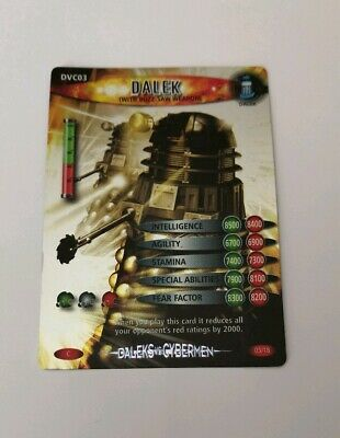 Doctor Who Battles In Time Trading Cards Dales Vs Cybermen