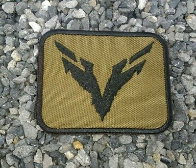 """E328 Cosplay Airsoft Game Embroidered """"Ghost Recon Breakpoint Wolves Logo"""" Patch"""