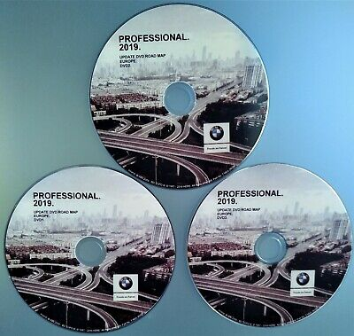 BMW Navigation Road Map Europe PROFESSIONAL 2019 Navi +Blitzer Edition DVD3 MAP3