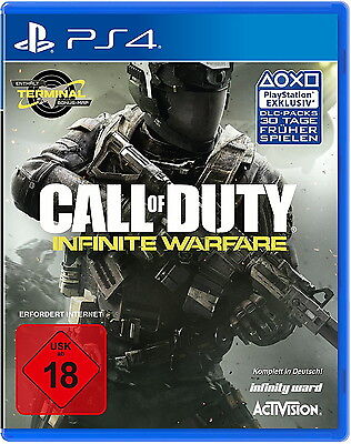 Call Of Duty: Infinite Warfare (PS4 PlayStation 4, 2016) neu OVP Spiel