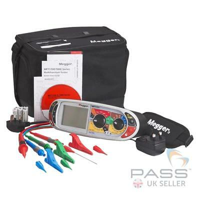 *NEW* Megger MFT1731-BS Downloadable Multifunction Tester + 1000 Results Memory