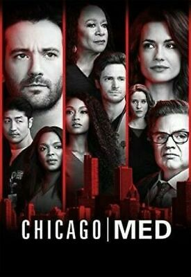 Brand New Sealed Chicago Med Complete Season 4 Four 4Th Fourth (Dvd) No Reserve!