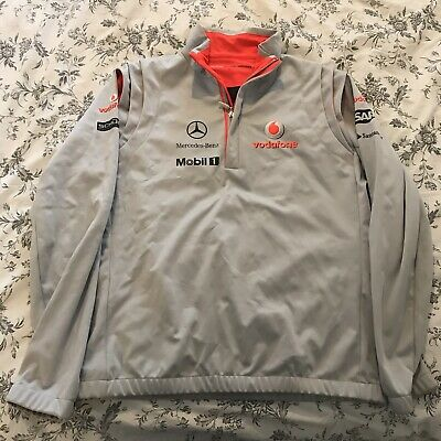 Vodafone McLaren Mercedes F1 team  jumper  sweater top Unused Without Tags Large