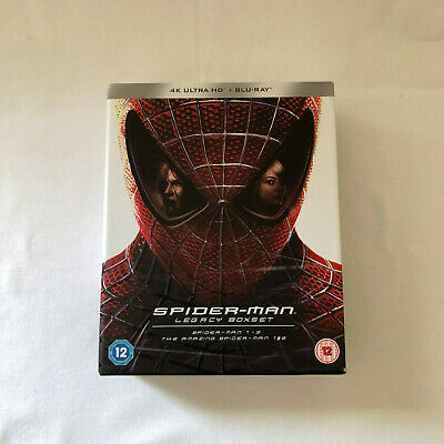 Spider-Man Legacy Collection [Limited Edition Numbered] [4K Ultra HD + Blu-ray]