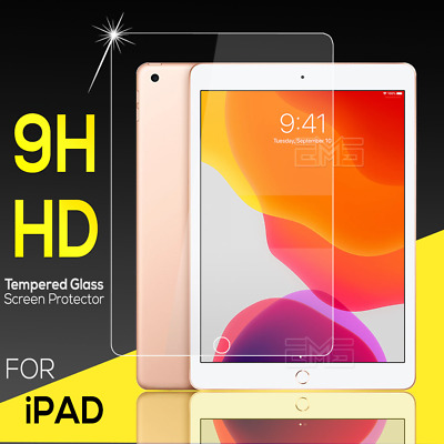 For Apple iPad Air 2nd 3rd iPad 5th 6th 7th Gen Tempered Glass Screen Protector
