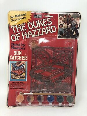 Vintage Dukes Of Hazzard General Lee Sun Catcher Brand New Unused 1981