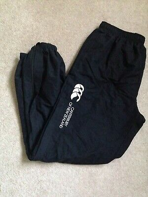 mens canterbury tracksuit bottoms Large