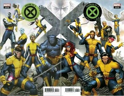 HOUSE OF X 4 & Powers Of X 4 Molina Connecting Var 2019 NM to NM+