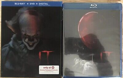 It Blu Ray + Dvd Target Exclusive Lenticular Slipcover Rare Out Of Print Oop