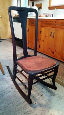 Amazing Vintage Boston Rocking Chair Circa 1940S 125 00 Picclick Ocoug Best Dining Table And Chair Ideas Images Ocougorg