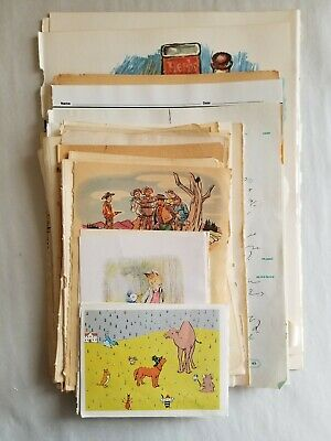 Lot of 50 Vintage Old Book Pages Ephemera Paper Pack 1889-1978 Mixed Theme