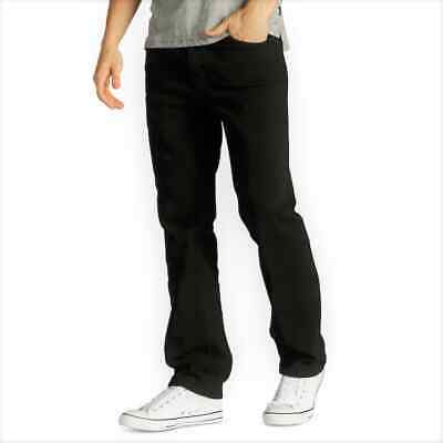 Men's Urban Pipeline Regular Fit Straight-Leg Jeans, Black, NWT