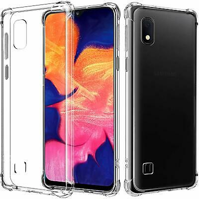 CLEAR Case For Samsung Galaxy A10s A10e A10 Cover Shockproof Bumper Silicone Gel