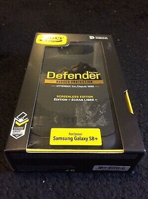 OtterBox Defender Series Case W/ Holster Clip for Samsung Galaxy S8+ Plus Black