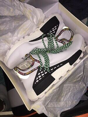 Adidas x Pharrell Williams Human Race NMD Inspiration Pack White Size Uk 8.5