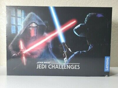 Lenovo - Star Wars Jedi Challenges AR Headset w/ Lightsaber Controller **NEW**