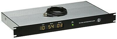 ESE ES-102U GPS Satellite SMPTE/EBU TC90 Timecode Atomic LED Clock Time Receiver