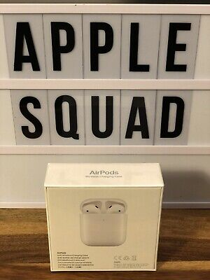 2019 New Sealed Genuine Apple Airpods Wireless Charging Case 2Nd Gen Rrp:£199